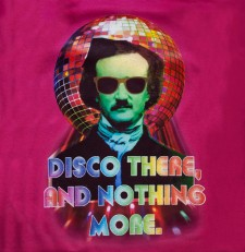 Disco there, and nothing more ;-) Edgar Allan Poe | Bokserka damska